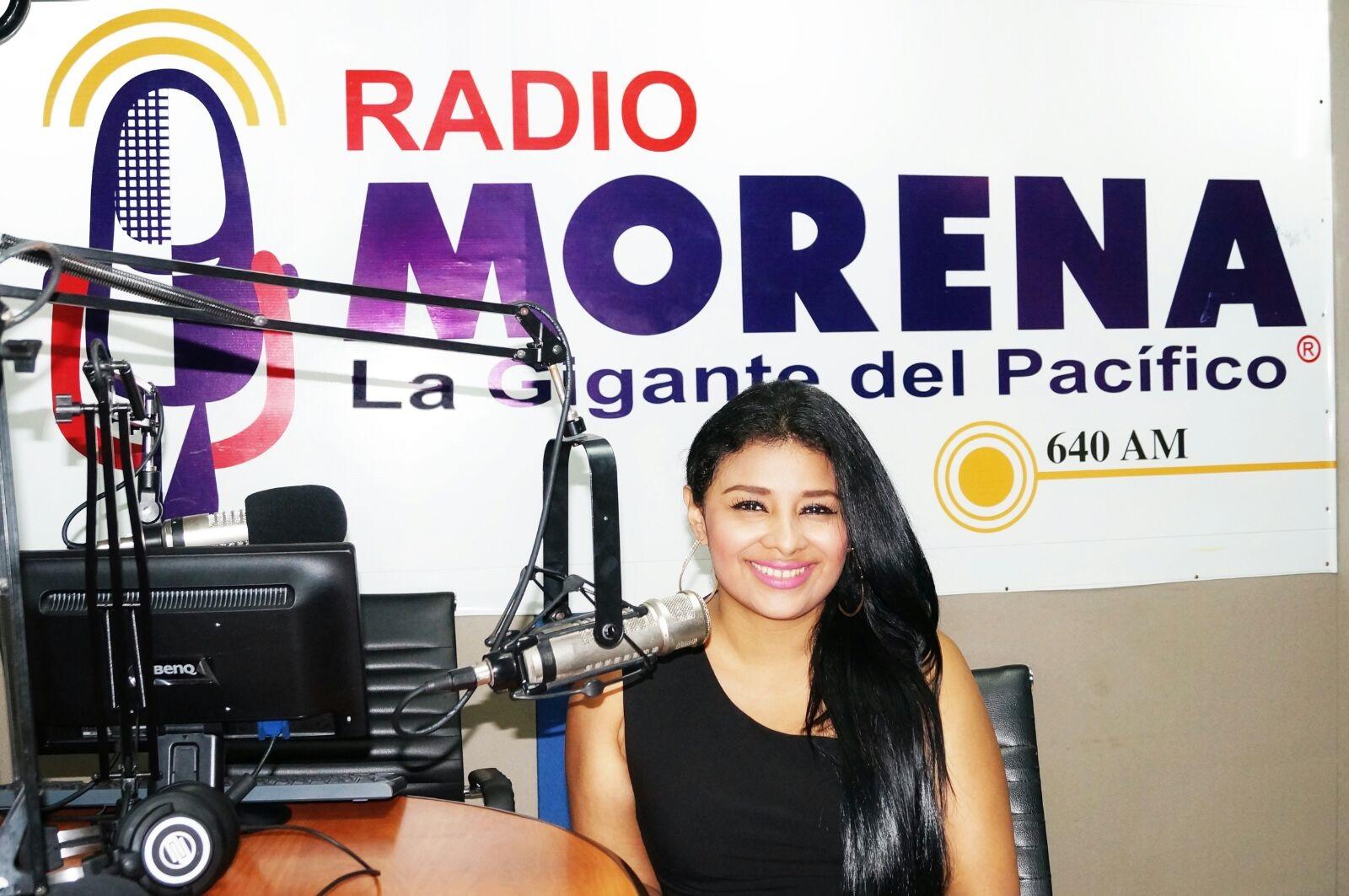 Sra. Diana Díaz, Coordinadora de Morena Noticias