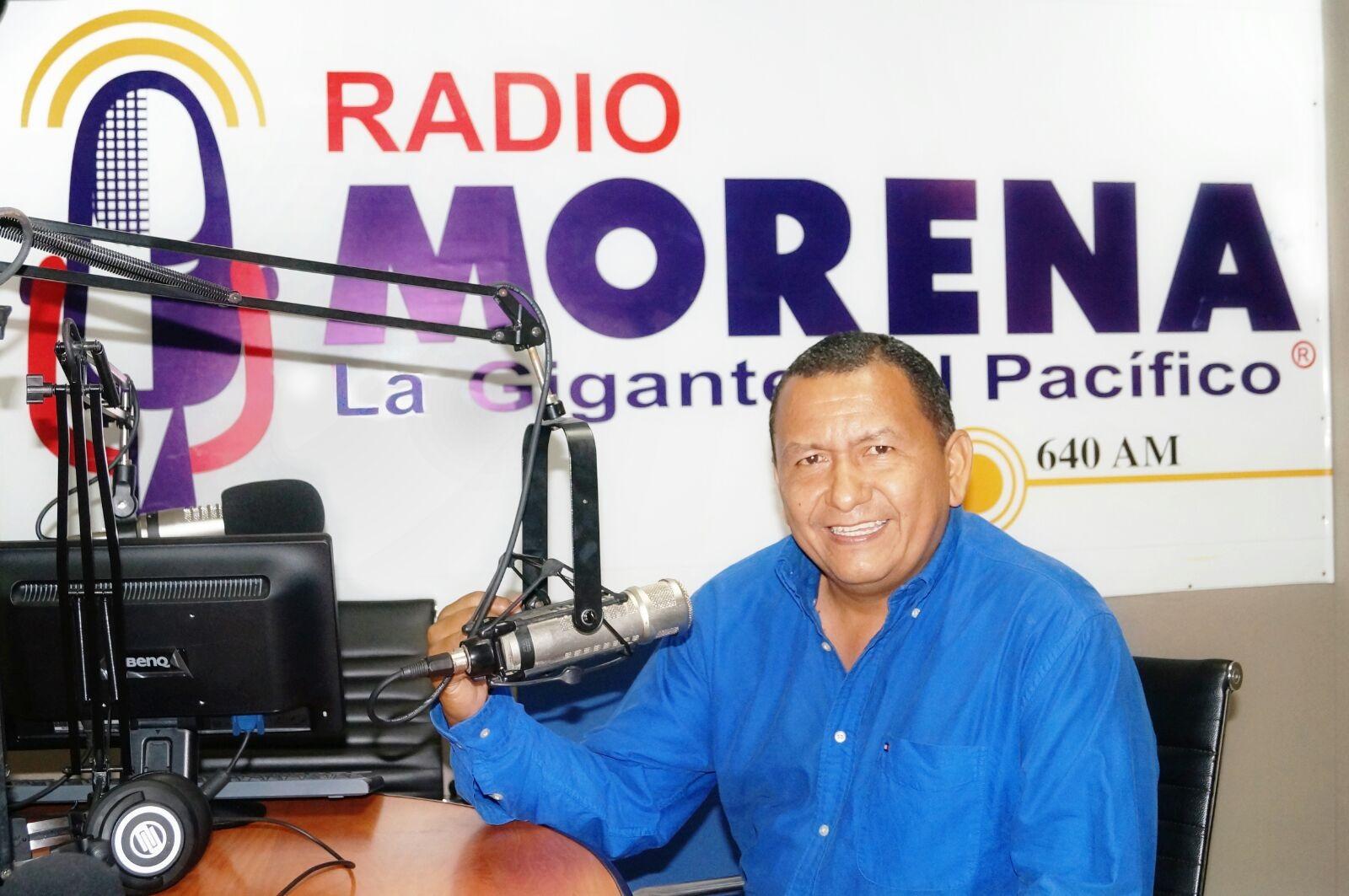 Lcdo. Javier Coello, conductor de Acción y Justicias