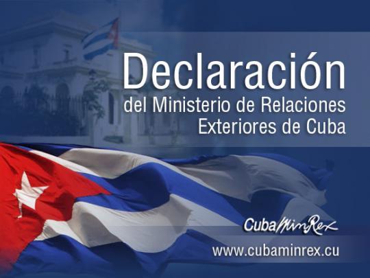 declaraciones de cuba
